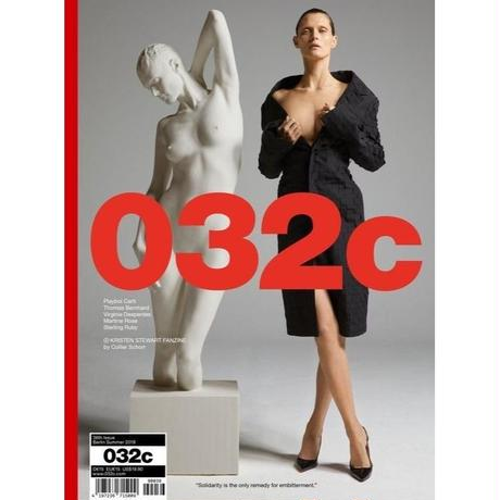 "032c Issue #36   ""Working Out Loud"" cover - Malgosia Bela"