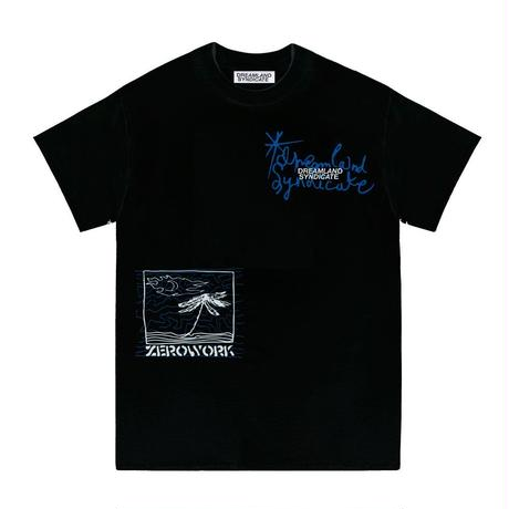 DREAMLAND SYNDICATE ISLAND T-SHIRT BLACK