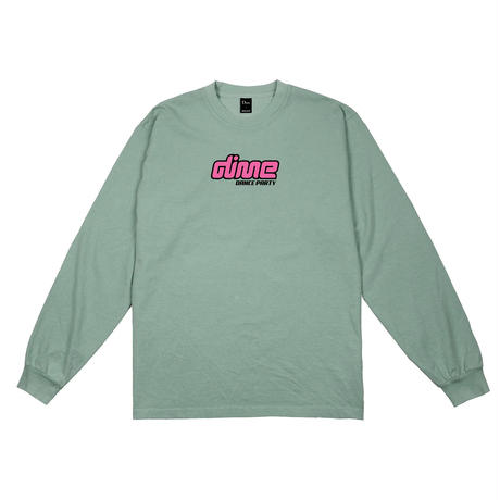 DIME DANCE PARTY L/S T-SHIRT WASHED GREEN