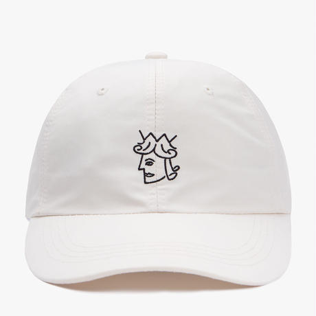 VICTORIA QUEENHEAD NYLON CAP  WHITE