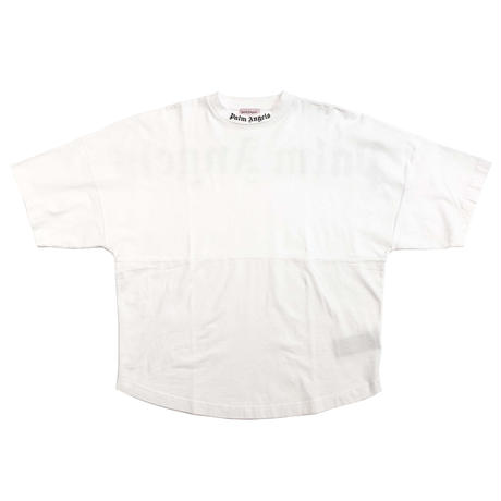 PALM  ANGELS  LOGO OVER SS  TEE WHITE
