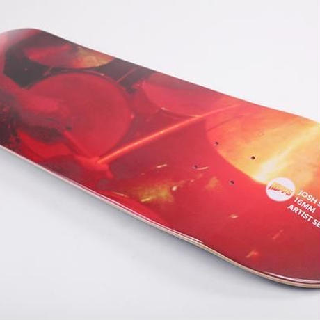 HOPPS × JOSH STEWART 16MM SERIES PERCUSSION DECK 8.0INCH
