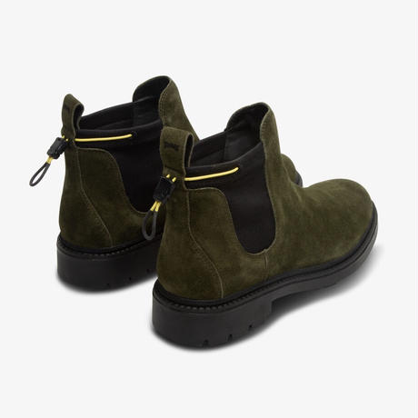 CAMPER TOGETHER × POP  TRADING COMPANY ANKLE BOOTS GREEN
