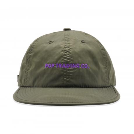 POP TRADING COMPANY  FLEXFOAM 6 PANEL HAT COMBAT/PURPLE