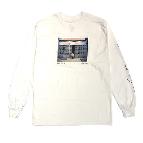 PARK DELICATESSEN ANNY PHOTO LS TEE WHITE