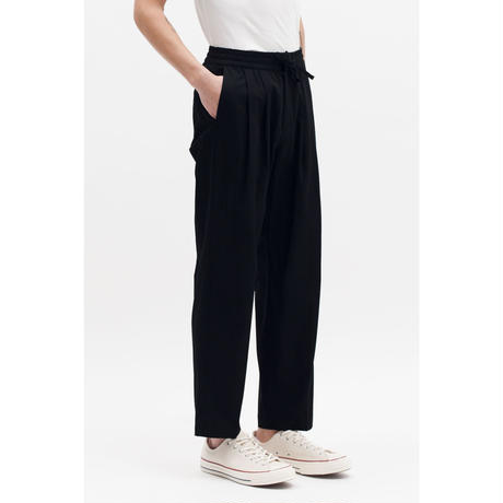 MAIDEN NOIR  EASY ELASTIC TROUSERS  BLACK