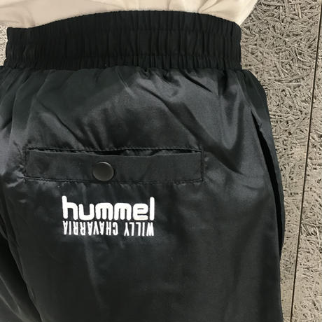 WILLY CHAVARRIA × HUMMEL MICROPANT BLACK