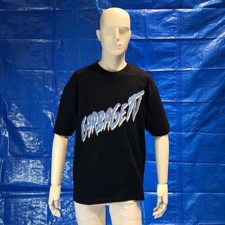 GARBAGE_TV MAN U S/S TEE BLACK