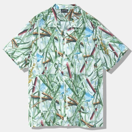 COLUMBIA BLACK LABEL SPEY DOME SHORT SLEEVE SHIRT WHITE