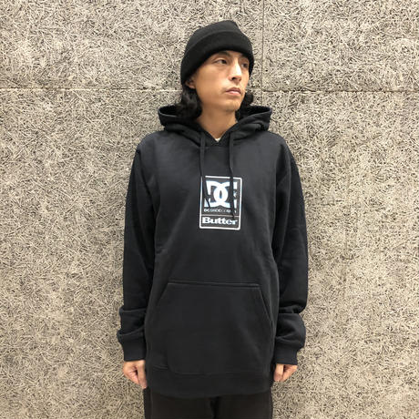 DC SHOES × BUTTERGOODS  BADGE PULLOVER BLACK