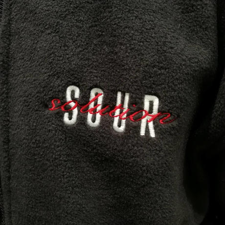 SOUR  SPOTHUNTER  FULL  ZIP  BLACK