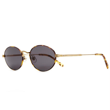 CRAP EYEWEAR THE NEW RIDDIM BRUSHED GOLD & TOKYO TORTOISE  / GREY