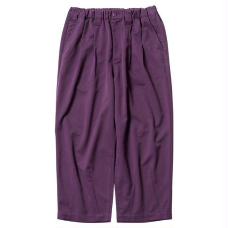 TIGHTBOOTH PRODUCTION BAGGY SLACKS PURPLE