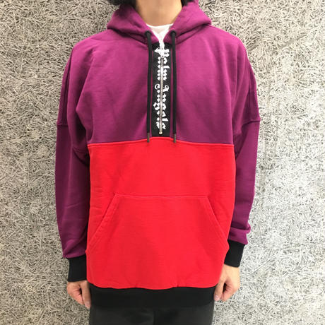 PALM  ANGELS  2COLORS LOGO OVER HOODY   MULTI