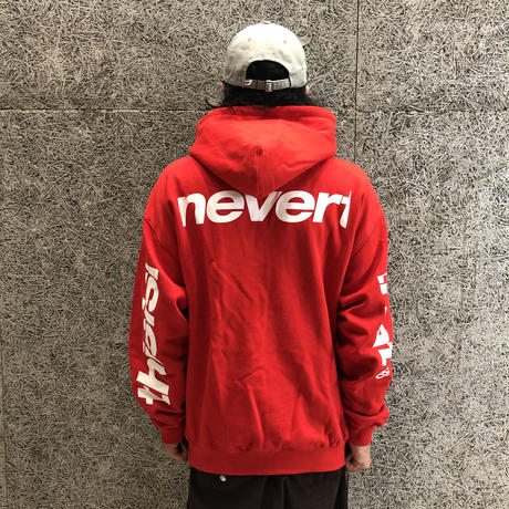 THISISNEVERTHAT  SP-3 HOODED SWEATSHIRT RED