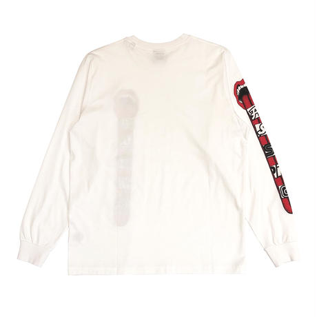 ASSID MOUT LONGSLEEVE TEE WHITE