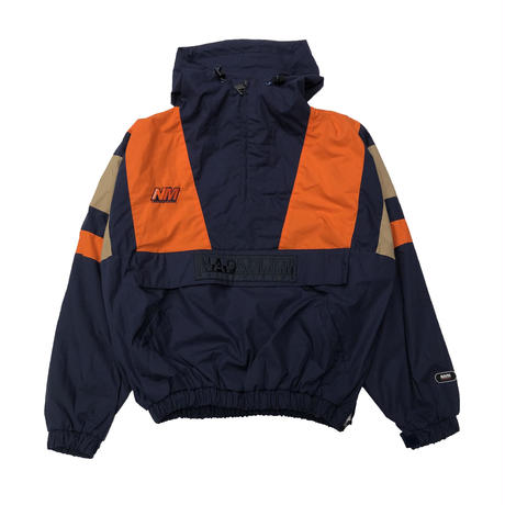 NAPA  BY MARTINE ROSE A-HUEZ JKT  BLUE/ORANGE/NATURAL