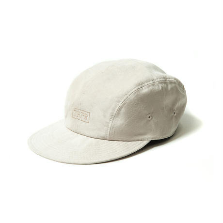 TIGHTBOOTH SUEDE CAMP CAP LIGHT BEIGE