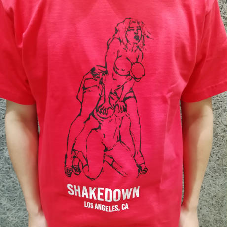 RICHARDSON SHAKEDOWN  SHORTSLEEVE  T  SHIRTS RED