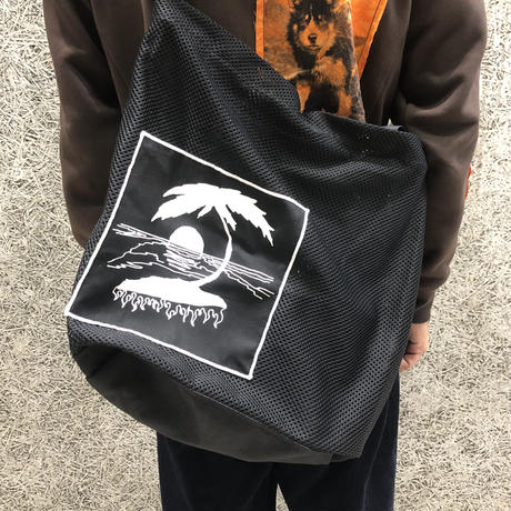 DREAMLAND SYNDICATE  TOTE BAG WITH A PATCH BLACK