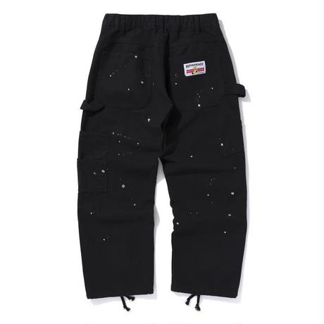 BLACK EYE PATCH × WHIMSY PAINTER PANTS BLACK