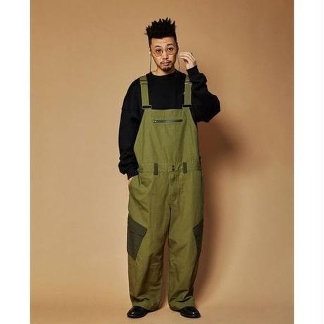 TIGHTBOOTH × KILLER-BONG FARMERS OVERALL OLIVE