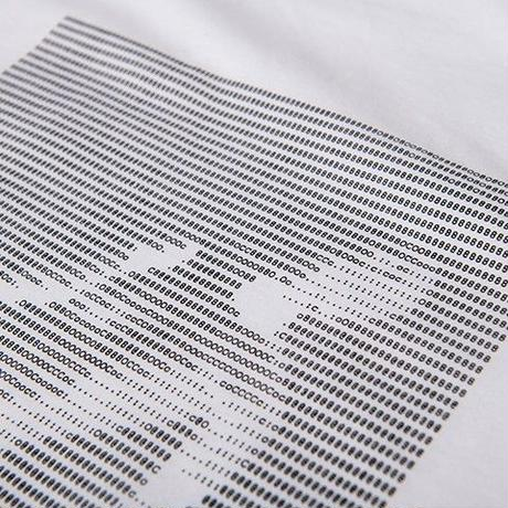 ÖCTAGON ASCII T-SHIRT WHITE