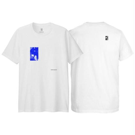 POETIC COLLECTIVE  SS-19 FLUID TEE WHITE