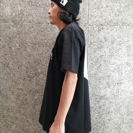 POP TRADING COMPANY × CARHARTT W.I.P SS POCKET TEE BLACK / WHITE