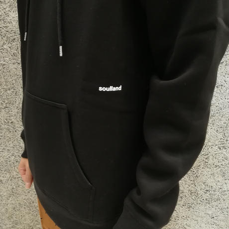 SOULLAND WALLANCE SWEATSHIRT BLACK