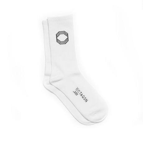 ÖCTAGON SOCKS WHITE