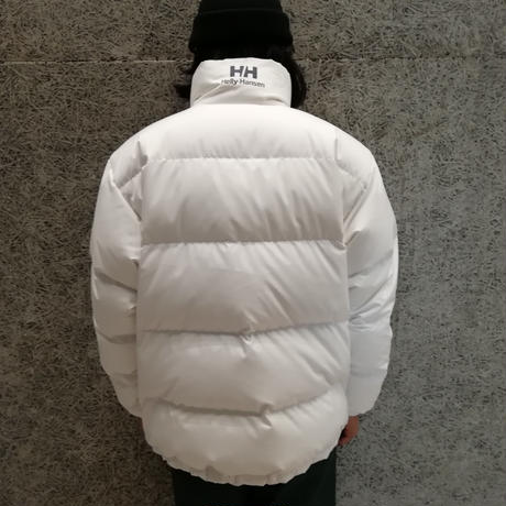 "HELLY HANSEN  ""BUBBLE DOWN JACKET"" WHITE"