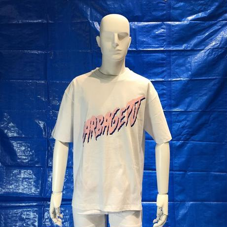 GARBAGE_TV MAN U S/S TEE WHITE