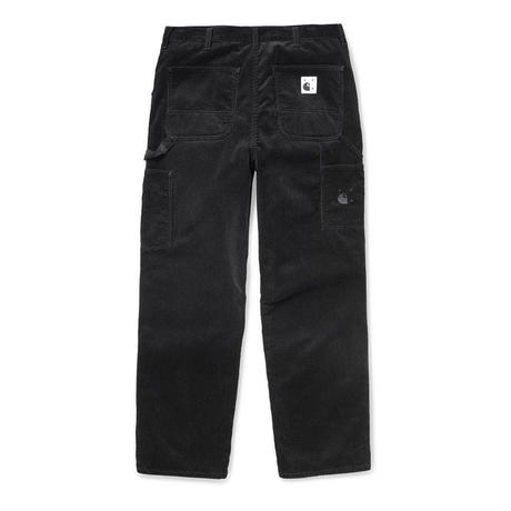 POP TRADING COMPANY × CARHARTT W.I.P SINGLE KNEE PANTS BLACK