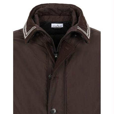 STONE ISLAND   40626 MICRO REPS WITH PRIMALOFT® INSULATION TECHNOLOGY BROWN
