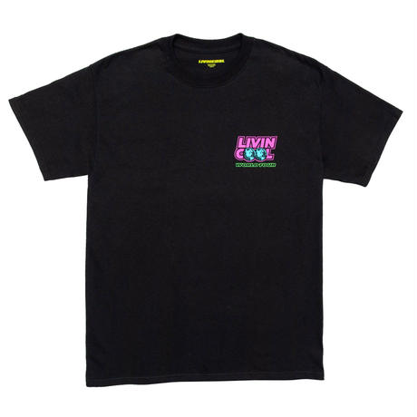 LIVINCOOL WORLD TOUR T-SHIRT BLACK