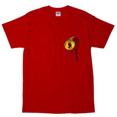 MN07 HANG TIGHT SS TEE RED