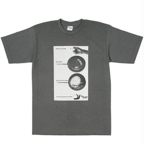 THE DUCT TAPE YEARS THIS IS YOUR TEE CHARCOAL