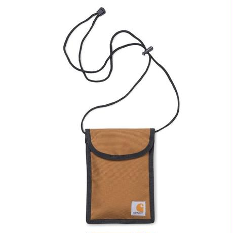 CARHARTT WIP COLLINS NECK POUCH HAMILTON BROWN
