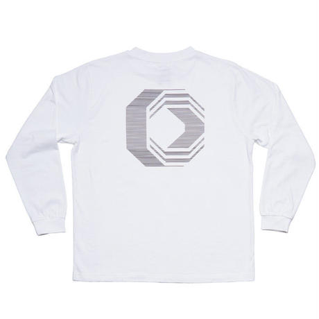 ÖCTAGON COTYLE LONG SLEEVE LS TEE WHITE