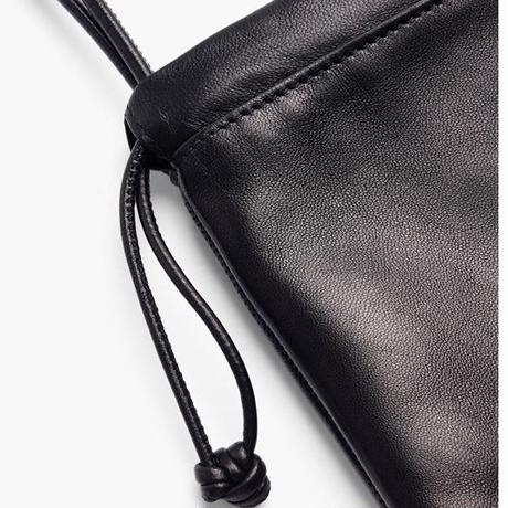 ALEXANDER WANG  MINI DUSTBAG BLACK