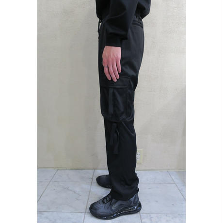 BEAT CARGO PANTS  /  BLACK