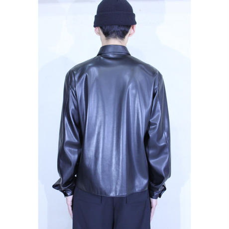 SYNTHETIC LEATHER SHIRTS  /  A-20SS-PHS-L
