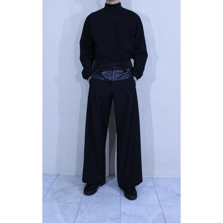 3FABRIC WIDE PANTS / A-20SS-2WP