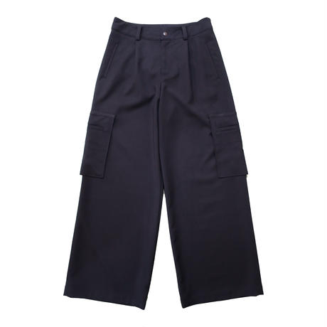 2PANEL POCKET WIDE PANTS / A-20SS-WCP
