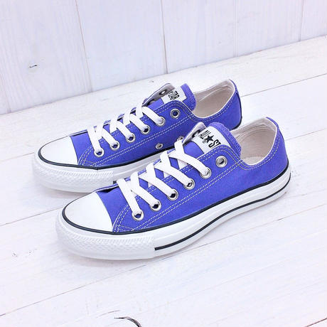 CONVERSE ALL STAR WASHEDCANVAS OX パープル