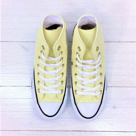 CONVERSE ALL STAR PASTELS HI イエロー