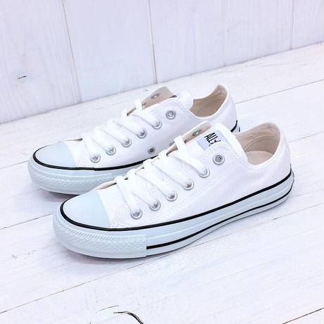 CONVERSE CANVAS ALL STAR COLORS OX ホワイト/ブラック