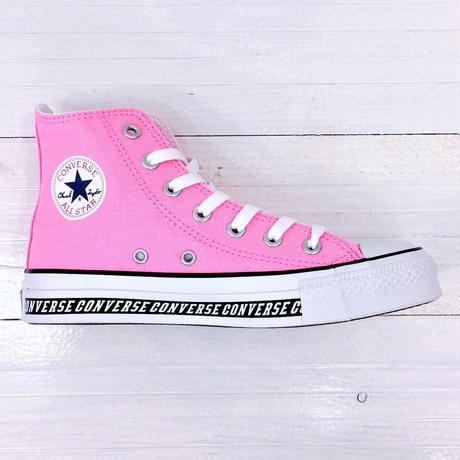 CONVERSE ALL STAR LOGO LINE HI ピンク