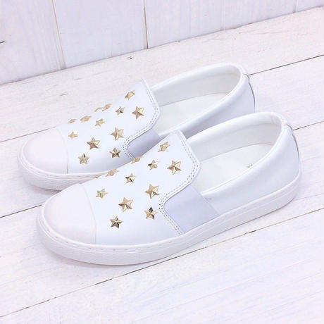 CONVERSE ALL STAR COUPE STARS SLIP ON ホワイト